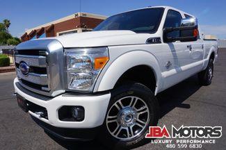 2015 Ford Super Duty F-250 Pickup Platinum 4x4 Diesel Crew Cab 4WD | MESA, AZ | JBA MOTORS in Mesa AZ