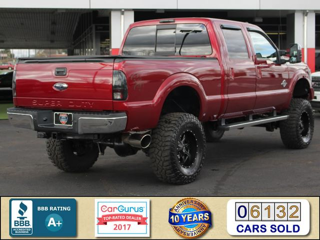 2015 Ford Super Duty F-250 Pickup Lariat ULTIMATE Crew Cab 4x4 - LIFTED - EXTRA$! Mooresville , NC 2