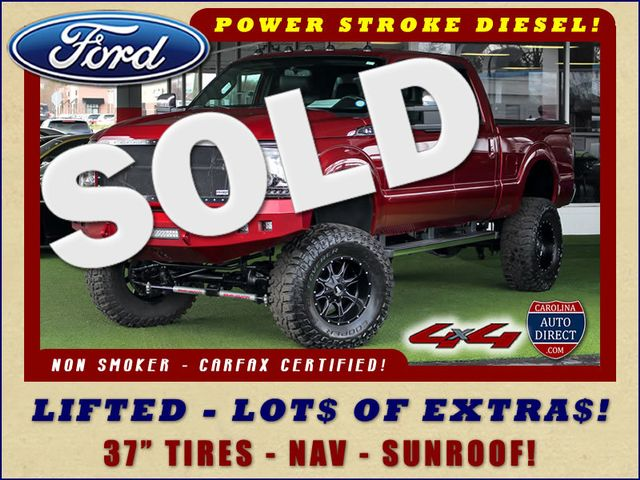 2015 Ford Super Duty F-250 Pickup Lariat ULTIMATE Crew Cab 4x4 - LIFTED - EXTRA$! Mooresville , NC 0