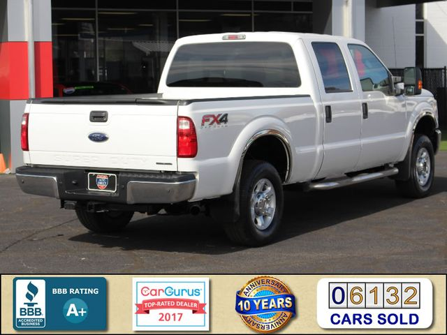 2015 Ford Super Duty F-250 Pickup XLT Crew Cab 4x4 FX4 - MICHELINS! Mooresville , NC 2