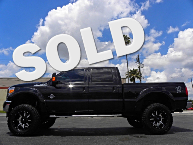 """2015 Ford F-250 6"""" LIFT POWER STROKE 4X4 CREWCAB LEATHER FUEL 37""""S"""