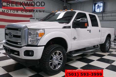 2015 Ford Super Duty F-250 Platinum Lariat 4x4 Diesel New Tires 20s Nav Roof in Searcy, AR