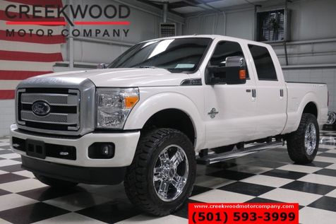 2015 Ford Super Duty F-250 Platinum 4x4 Diesel Nav Chrome 22s Lift 37