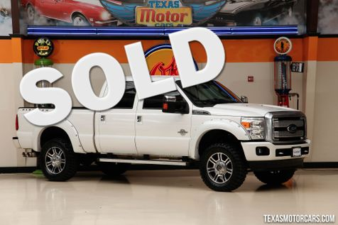 2015 Ford Super Duty F-350 SRW Pickup Platinum in Addison