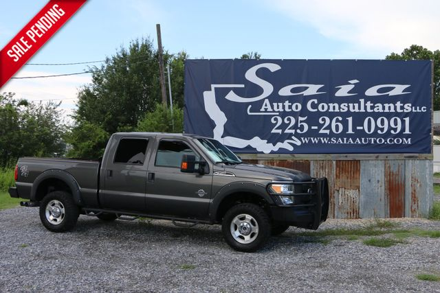 2015 Ford F350  4wd Xlt 6.7 Diesel Srw SWB RANCH HAND BUMPERS N FAB STEPS  PWR SEAT  ONE OWNER CAR FAX READY TO GEAUX | Baton Rouge , Louisiana | Saia Auto Consultants LLC in Baton Rouge  Louisiana