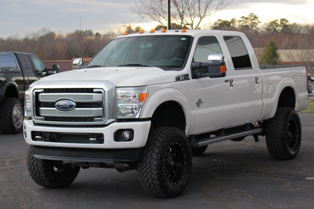 2015 Ford Super Duty F-350 SRW Pickup Platinum Crew Cab 4x4 FX4 - LIFTED - EXTRA$! Mooresville , NC 21