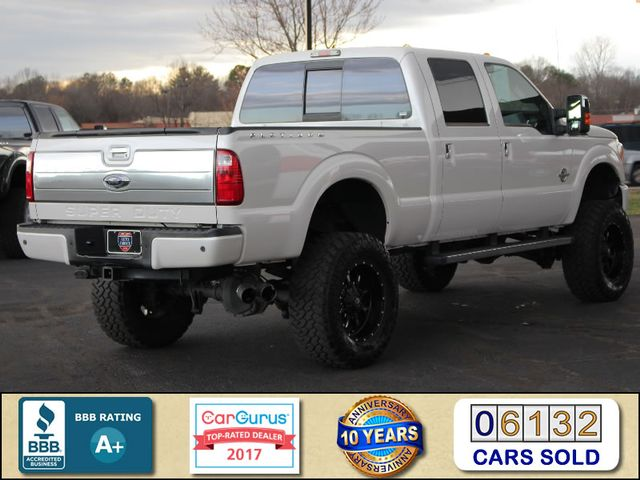 2015 Ford Super Duty F-350 SRW Pickup Platinum Crew Cab 4x4 FX4 - LIFTED - EXTRA$! Mooresville , NC 2