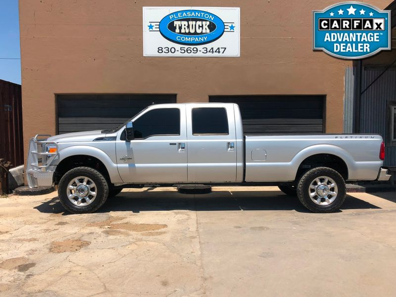 2015 Ford Super Duty F-350 SRW Pickup Platinum   Pleasanton, TX   Pleasanton Truck Company in Pleasanton TX