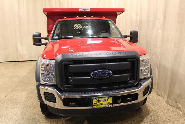 2015 Ford Super Duty F-550 DRW Chassis Cab XL Roscoe, Illinois 7