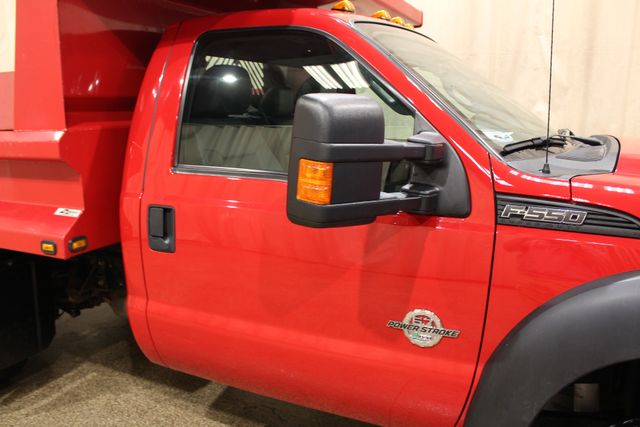2015 Ford Super Duty F-550 DRW Chassis Cab XL Roscoe, Illinois 3