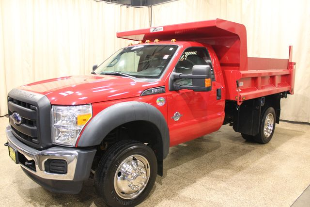 2015 Ford Super Duty F-550 DRW Chassis Cab XL Roscoe, Illinois 2
