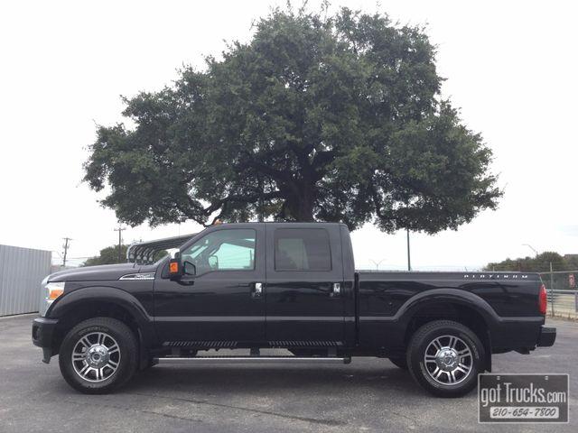 2015 Ford Super Duty F250 Crew Cab Platinum 6.2L V8 4X4 | American Auto Brokers San Antonio, TX in San Antonio Texas