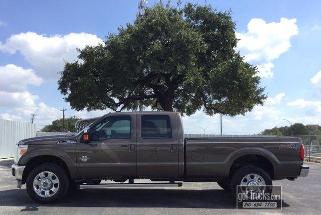 2015 Ford Super Duty F350 Crew Cab Lariat FX4 6.7L Power Stroke Diesel 4X4   American Auto Brokers San Antonio, TX in San Antonio Texas