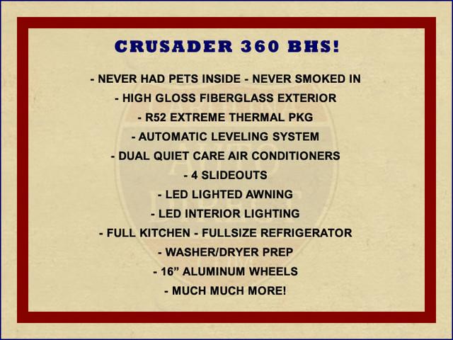 2015 Forest River Prime Time Crusader 360 BHS Mooresville , NC 1