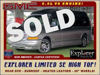 2015 GMC Savana 2500 EXT Van Upfitter EXPLORER LIMITED SE HIGH TOP CONVERSION Mooresville , NC