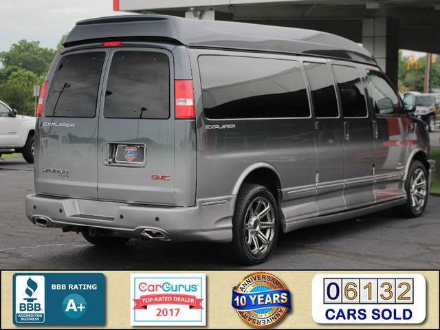 2015 GMC Savana 2500 EXT Van Upfitter EXPLORER LIMITED SE HIGH TOP CONVERSION Mooresville , NC 2