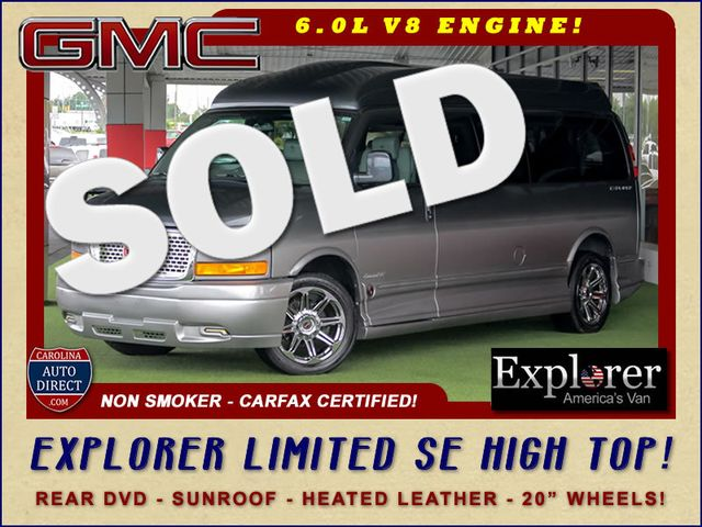 2015 GMC Savana 2500 EXT Van Upfitter EXPLORER LIMITED SE HIGH TOP CONVERSION Mooresville , NC 0