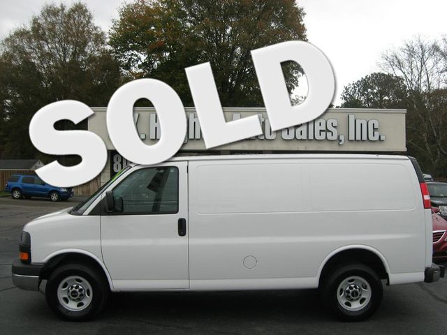2015 GMC Savana Cargo Van G2500 Richmond, Virginia 0