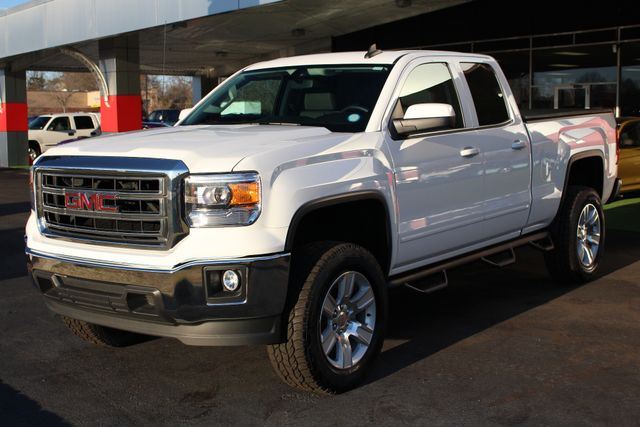 "2015 GMC Sierra 1500 SLE Double Cab RWD - LIFTED - 20"" Wheels! Mooresville , NC 22"