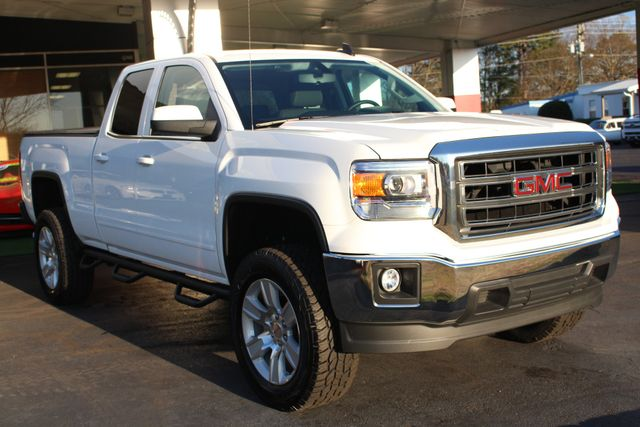 "2015 GMC Sierra 1500 SLE Double Cab RWD - LIFTED - 20"" Wheels! Mooresville , NC 21"