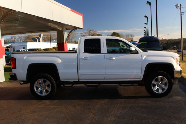 "2015 GMC Sierra 1500 SLE Double Cab RWD - LIFTED - 20"" Wheels! Mooresville , NC 13"