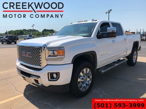 2015 GMC Sierra 2500HD Denali 4x4 Diesel White Nav Roof Chrome 20s Clean in Searcy, AR