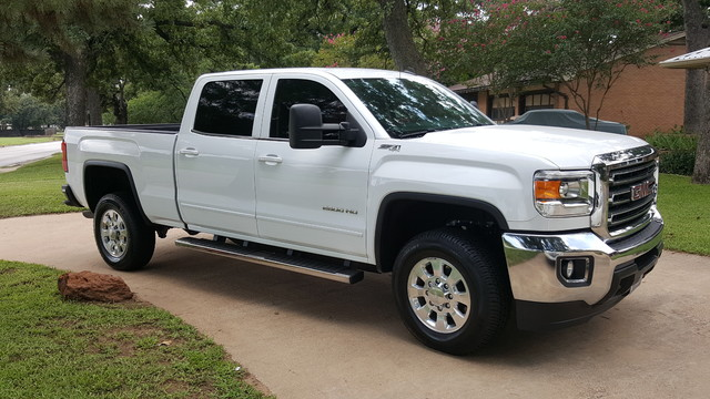 2015 GMC Sierra 2500HD available WiFi SLE Arlington, Texas 4