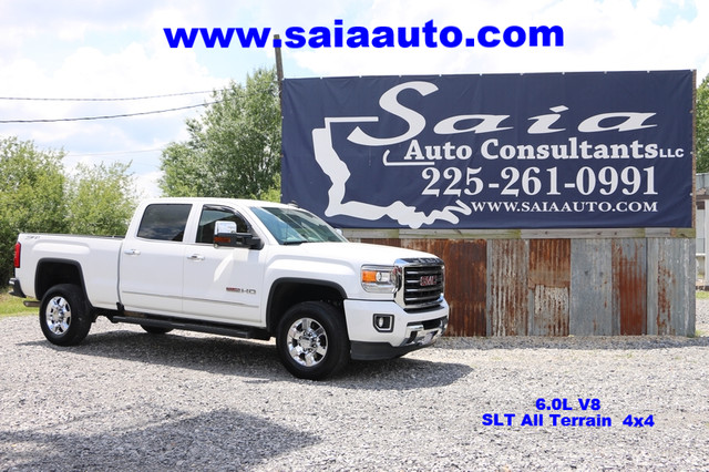 2015 Gmc  Sierra 2500 Hd 4wd All Terrain Pkg 4wd Slt NAVI LEATHER HTD SEATS 20S LOADED ONE OWNER CLEAN CAR FAX | Baton Rouge , Louisiana | Saia Auto Consultants LLC in Baton Rouge  Louisiana