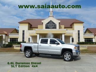 2015 Gmc 2500 Hd Crew Cab Slt 4wd Duramax Diesel NAVI WIFI 20S LOADED ONE OWNER CARFAX SERVICED DETAILED READY TO GEAUX | Baton Rouge , Louisiana | Saia Auto Consultants LLC-[ 2 ]