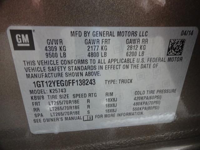 2015 GMC Sierra 2500HD  SLE Corpus Christi, Texas 50