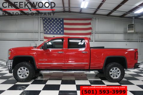 2015 GMC Sierra 2500HD SLE SLT 4x4 Z71 Diesel Nav Leather Htd Chrome Red in Searcy, AR
