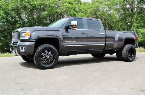 2015 GMC Sierra 3500HD available WiFi Denali - 4X4 - LOADED - LIFTED - 1 OWNER in Liberty Hill , TX