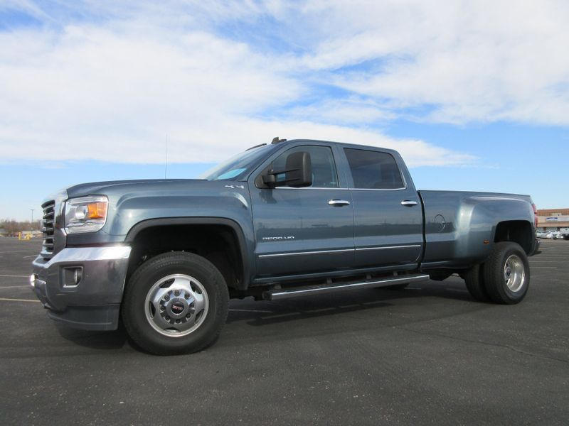 2015 GMC Sierra 3500HD Crew Cab  SLT 4X4 DRW  Fultons Used Cars Inc  in , Colorado