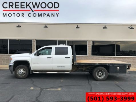 2015 GMC Sierra 3500HD WT SLE 4x4 Diesel Dually Flatbed White New Tires in Searcy, AR