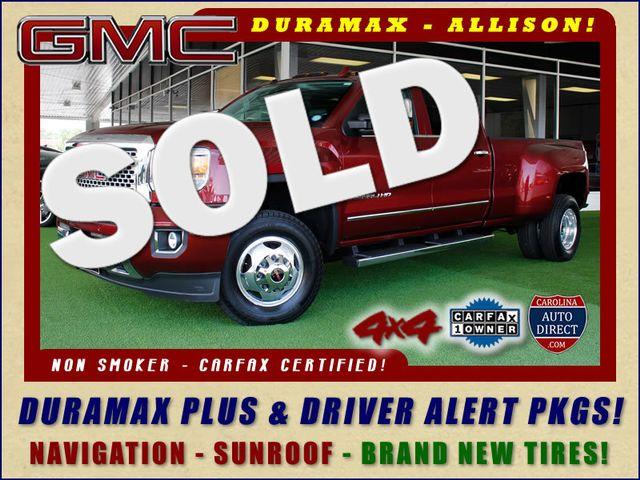 2015 GMC Sierra 3500HD  Denali Crew Cab DRW Long Bed 4x4 - DURAMAX PLUS! Mooresville , NC 0