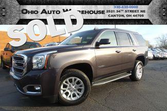 2015 GMC Yukon SLT 4x4 Navi Sunroof 1-Own Cln Carfax We Finance | Canton, Ohio | Ohio Auto Warehouse LLC in  Ohio