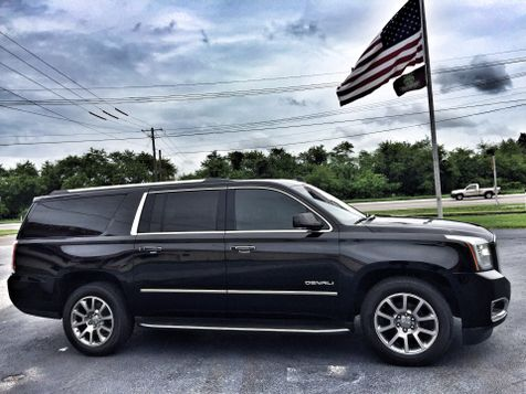 2015 GMC Yukon XL DENALI XL DVD MOONROOF BLACK/BLACK 8 PASS in , Florida