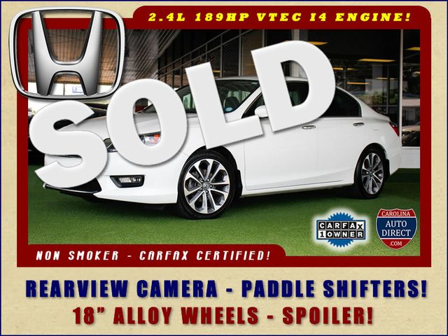 2015 Honda Accord Sport FWD - ONE OWNER! Mooresville , NC 0