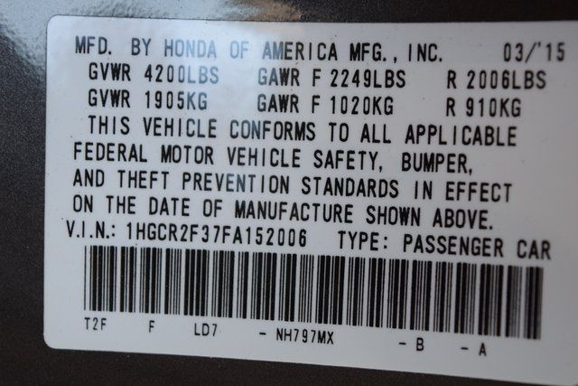 2015 Honda Accord LX Richmond Hill, New York 31