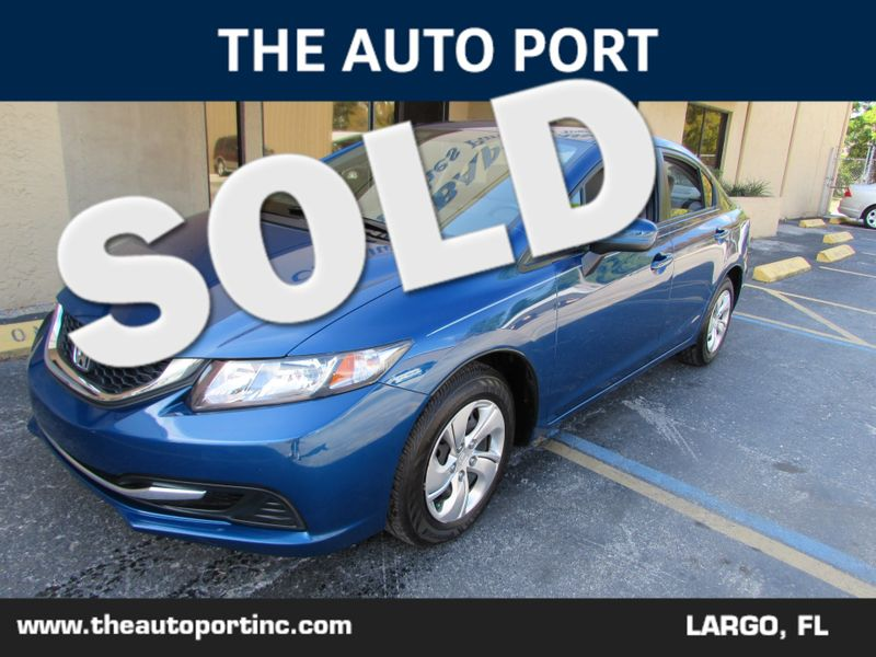 2015 Honda Civic LX   Clearwater, Florida   The Auto Port Inc in Clearwater Florida