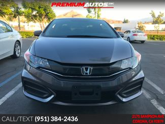 2015 Honda Civic LX COUPE - ONLY 23K MILES - MANUAL - WARRANTY | Corona, CA | Premium Autos Inc. in Corona CA