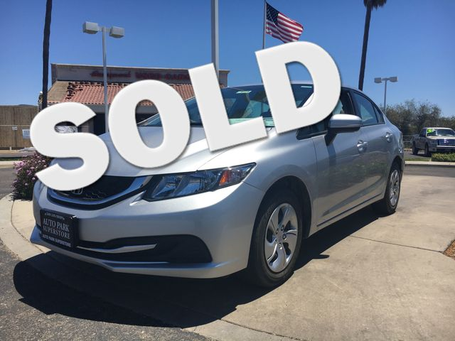 2015 Honda Civic LX Youll have change leftover when filling up this fuel efficient ride VIN 19