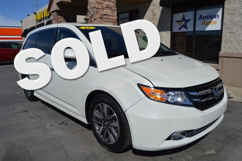 2015 Honda Odyssey Touring | Bountiful, UT | Antion Auto in Bountiful UT
