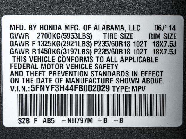2015 Honda Pilot EX Burbank, CA 17