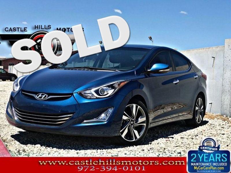 2015 Hyundai Elantra Limited | Lewisville, Texas | Castle Hills Motors in Lewisville Texas