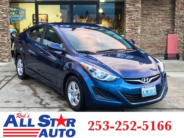 2015 Hyundai Elantra SE The CARFAX Buy Back Guarantee that comes with this vehicle means that you