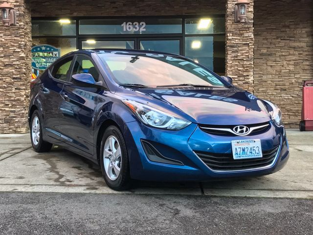 2015 Hyundai Elantra SE Clean CARFAX Lakeside 2015 Hyundai Elantra SE FWD 6-Speed Automatic with