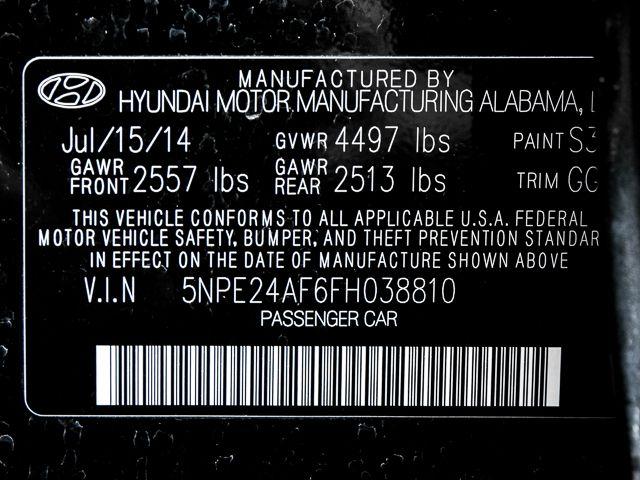 2015 Hyundai Sonata 2.4L SE Burbank, CA 17