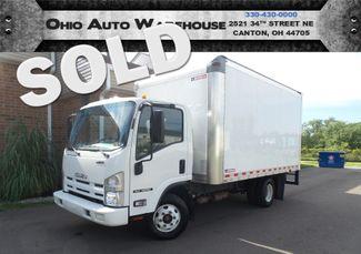 2015 Isuzu NPR  Tilt Cab Cargo Box Truck 1-Own Clean Carfax | Canton, Ohio | Ohio Auto Warehouse LLC in  Ohio