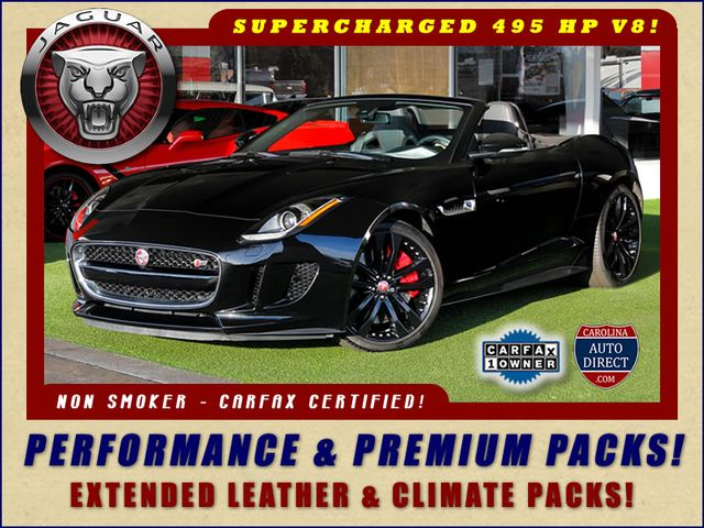 2015 Jaguar F-TYPE V8 S RWD - PERFORMANCE & PREMIUM PKGS! Mooresville , NC 0